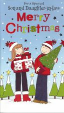 Son & Daughter in Law Couple - Christmas Card