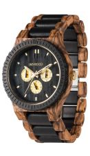 Mens WeWood Kappa Zebrano Wooden Watch