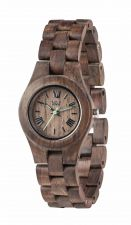 Ladies WeWood Criss Choco Rough Wooden Watch