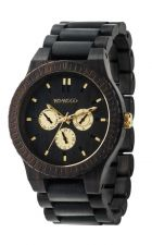 Mens WeWood Kappa Black RO Wooden Watch