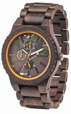Mens WeWood Kos Choco Camo Wooden Watch