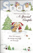 Special Couple Snow - Christmas Card