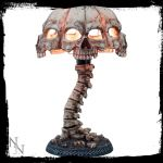 Atrocity Skull Gothic Table Lamp - Nemesis Now