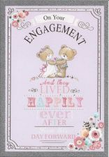 Engagement Silver Card