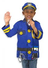 Melissa & Doug Policeman Fancy Dress Outfit