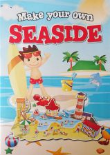 Seaside 3D Construction Book - Make Your Own