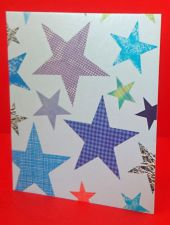 Blue Star Gift Tag