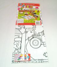 Farm Playmat - Colour Your Own - With Crayons