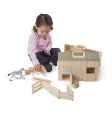 Melissa & Doug - Stable with Horses