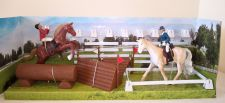 Eventing Toy Riding Academy Horse Play Set