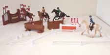 Toy Riding Academy Horse Play Set - 41 items