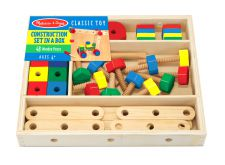 Melissa & Doug Construction Kit in a Box - 48 Pieces