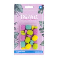 Pineapple Totally Tropical Eraser Pencil Toppers