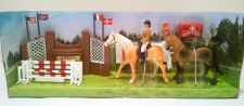 Show Jumping Toy Riding Academy Horse Play Set